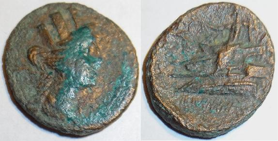 Coins: Ancient Ancient Greek Coin 370 Bc Just Zeus Of Eumeneia In Prygia Oak Wreath